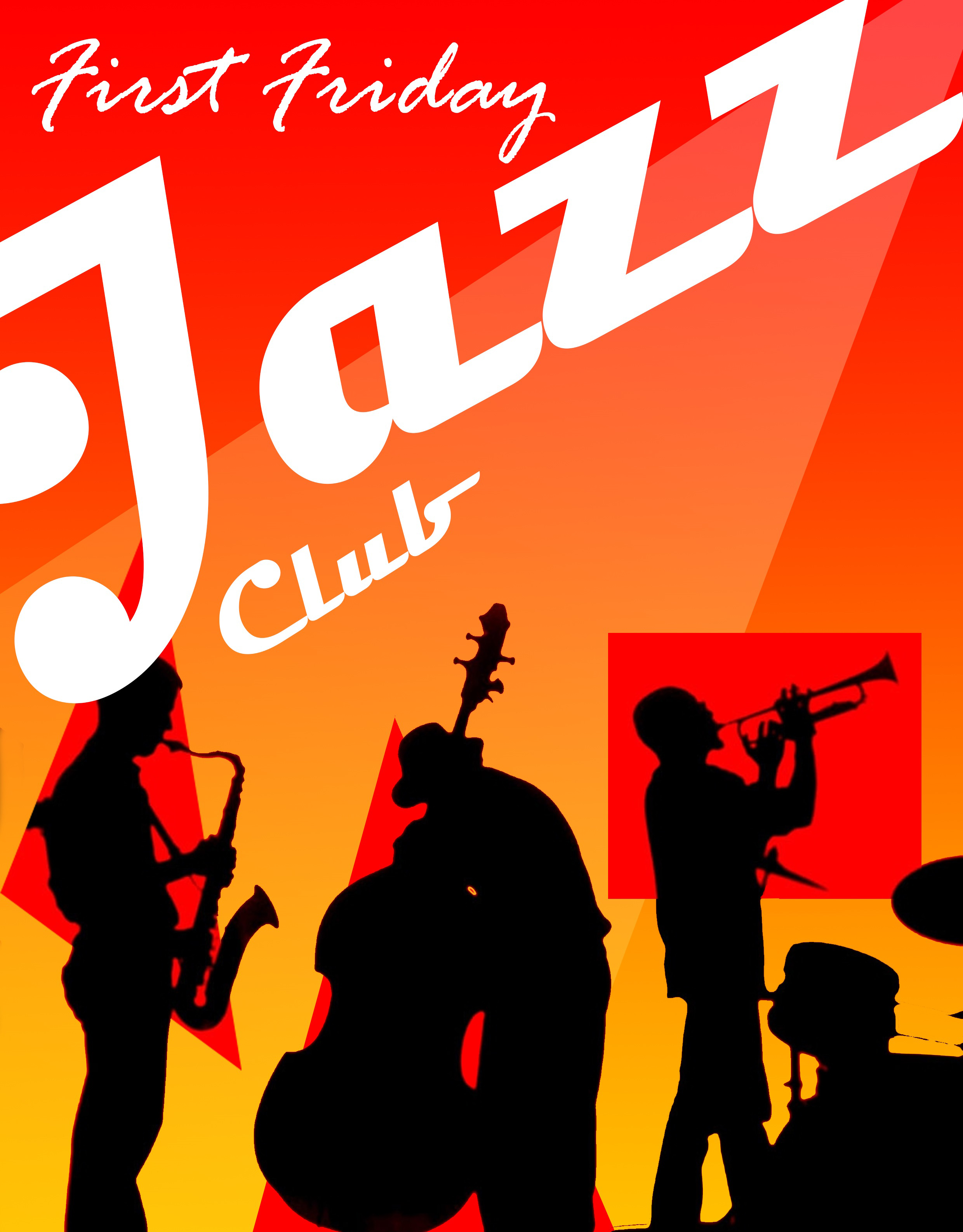 First Friday Jazz Club logo